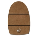Dexter T*H*E 9 Replacement Slide Sole - S2: Brown Microfiber (Shortest Slide)