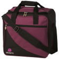 Ebonite Basic Single Ball Bowling Bag - Purple