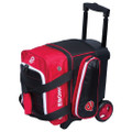 Ebonite Eclipse 1 Ball Roller Bowling Bag - Red