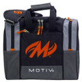 Motiv Shock 1 Ball Bowling Bag - Black/Orange
