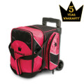 Brunswick Edge 1 Ball Roller Bowling Bag - Pink