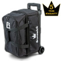 Brunswick Blitz 2 Ball Roller Bowling Bag - Black