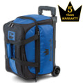 Brunswick Blitz 2 Ball Roller Bowling Bag - Blue