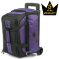 Brunswick Blitz 2 Ball Roller Bowling Bag - Purple