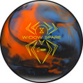 Hammer Widow Spare Bowling Ball - Blue/Orange/Smoke