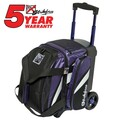 KR Strikeforce Cruiser 1 Ball Roller Bowling Bag - Purple/White/Black