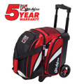 KR Strikeforce Cruiser 1 Ball Roller Bowling Bag - Red/White/Black