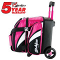KR Strikeforce Cruiser 1 Ball Roller Bowling Bag - Pink/White/Black
