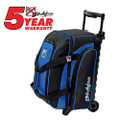 KR Strikeforce Eliminator 2 Ball Roller Bowling Bag - Royal