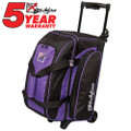 KR Strikeforce Eliminator 2 Ball Roller Bowling Bag - Purple
