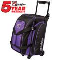 KR Strikeforce Eliminator 2 Ball Roller Bowling Bag - Purple