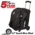 KR Strikeforce Cruiser 2 Ball Roller Bowling Bag - Black