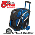 KR Strikeforce Cruiser 2 Ball Roller Bowling Bag - Royal/White/Black