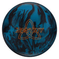 Ebonite Destiny Solid Bowling Ball - Blue/Black