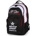 Roto Grip All-Star Edition Back Pack - Black/White/Red