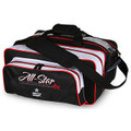 Roto Grip All-Star Edition 2 Ball Carryall Tote Bag - Black/White/Red