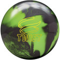 Brunswick Twist Bowling Ball - Neon Green/Black