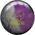 Brunswick Rhino Bowling Ball - Charcoal/Silver/Black