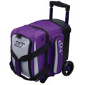 Columbia 300 Icon 1 Ball Roller Bowling Bag - Purple/Silver