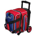 Columbia 300 Icon 1 Ball Roller Bowling Bag - Red/White/Blue