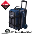 Columbia 300 Icon 2 Ball Roller Bowling Bag - Navy/Charcoal