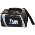 Columbia 300 Team Columbia 2 Ball Tote Bowling Bag - Black/Silver