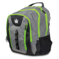 Brunswick Touring Backpack Bag - Grey/Lime