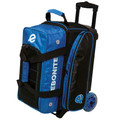 Ebonite Eclipse 2 Ball Roller Bowling Bag - Royal