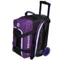 Ebonite Eclipse 2 Ball Roller Bowling Bag - Purple