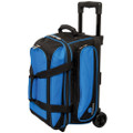 Ebonite Transport 2 Ball Roller Bowling Bag - Blue
