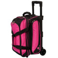 Ebonite Transport 2 Ball Roller Bowling Bag - Pink