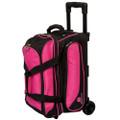 Ebonite Transport 2 Ball Roller Bowling Bag - Pink