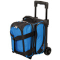 Ebonite Transport 1 Ball Roller Bowling Bag - Blue