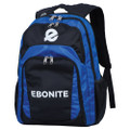 Ebonite Backpack Bag - Black/Royal
