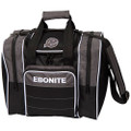 Ebonite Impact Plus 1 Ball Bowling Bag - Smoke
