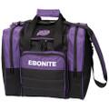Ebonite Impact Plus Single Ball Bowling Bag - Purple
