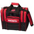 Ebonite Impact Plus Single Ball Bowling Bag - Red