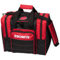 Ebonite Impact Plus 1 Ball Bowling Bag - Red