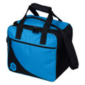 Ebonite Basic 1 Ball Bowling Bag - Aqua