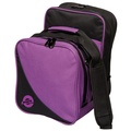 Ebonite Compact 1 Ball Bowling Bag - Purple