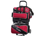 KR Strikeforce Fast 4 Ball Roller Bowling Bag - Red/Black