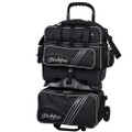 KR Strikeforce LR4 Sport 4 Ball Roller Bowling Bag - Black