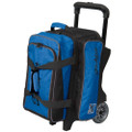 KR Strikeforce Krush 2 Ball Roller Bowling Bag - Blue/Black