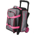 KR Strikeforce Krush 2 Ball Roller Bowling Bag - Stone/Pink