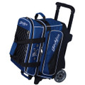 KR Strikeforce Royal Flush 2 Ball Roller Bowling Bag - Royal