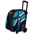 KR Strikeforce Cruiser 2 Ball Roller Bowling Bag - Teal