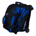 KR Strikeforce Cruiser Locker 2 Ball Roller Bowling Bag - Black/Royal