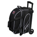 KR Strikeforce Fast 2 Ball Roller Bowling Bag - Black