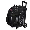 KR Strikeforce Fast 2 Ball Roller Bowling Bag - Black