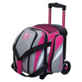 KR Strikeforce Cruiser 1 Ball Roller Bowling Bag - Stone/Pink